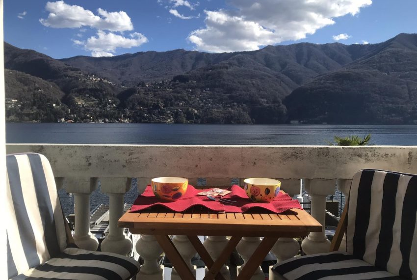 Enjoy your breakfast Carate Urio Lake Como