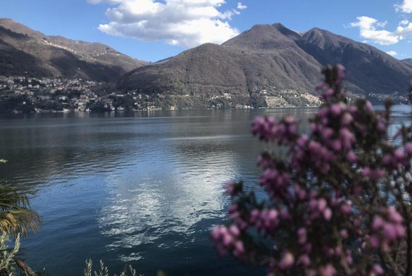 View from Brienno Lake Como