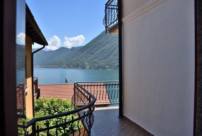 Balcony on Lake Como