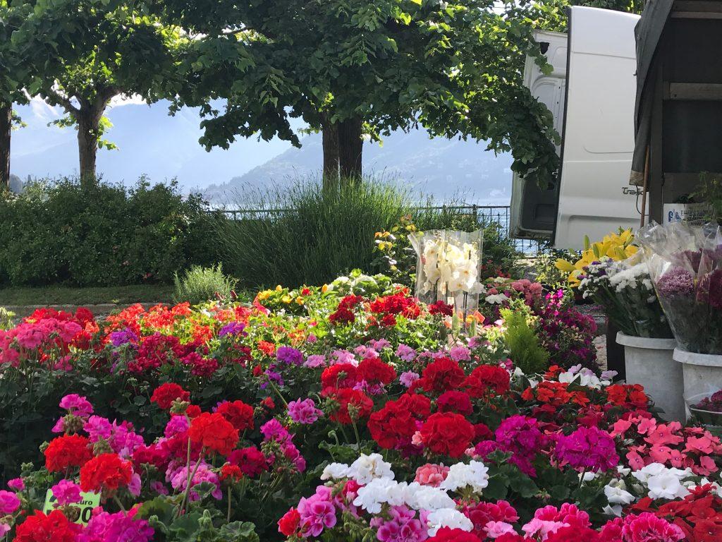 Market in Cernobbio - Lake Como