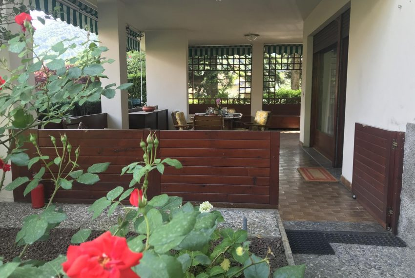 Garden and terrace Bellagio apartment