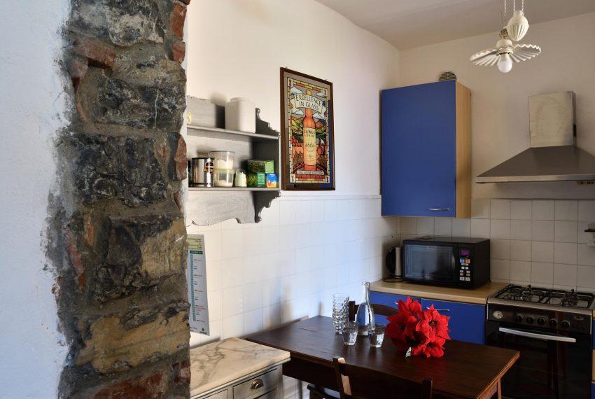 Kitchen Argegno apartment