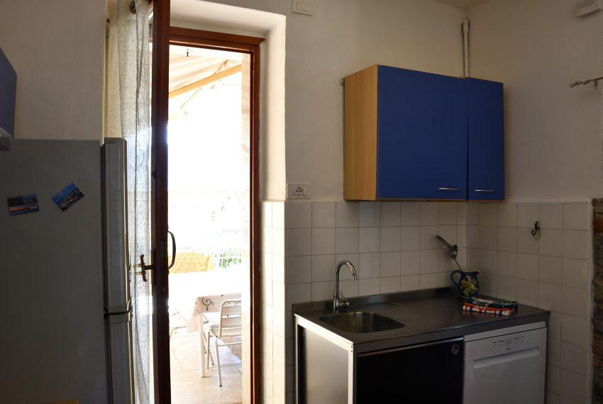 Kitchen apartment in argegno