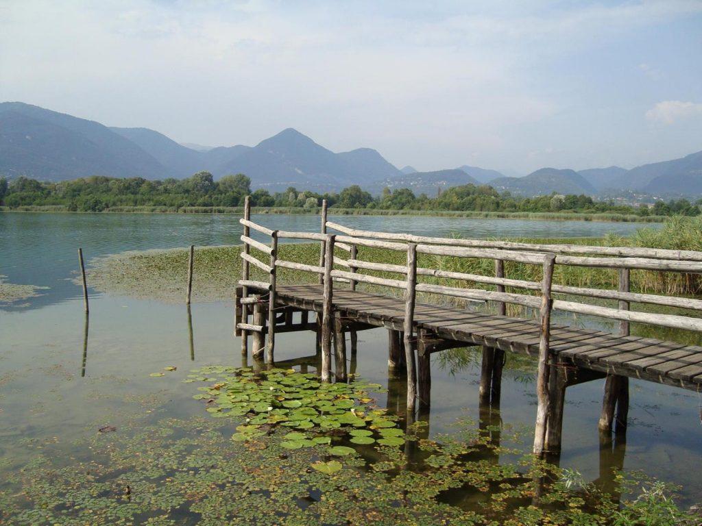 Park of Lambro Valley and Lake Alserio