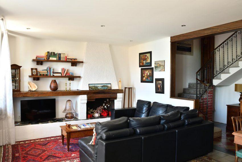 Living room Apartment in Argegno