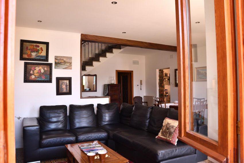 Living room apartment Argegno