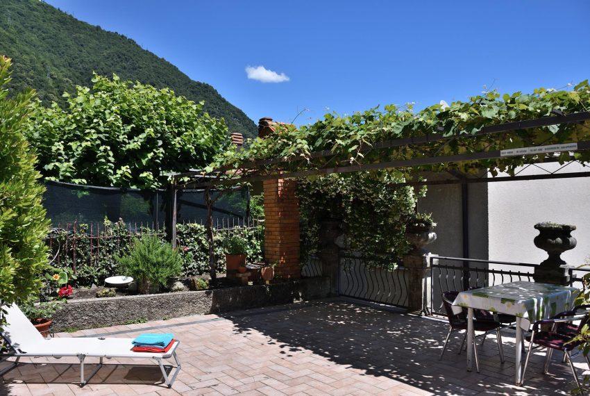 Terrace apt in Argegno