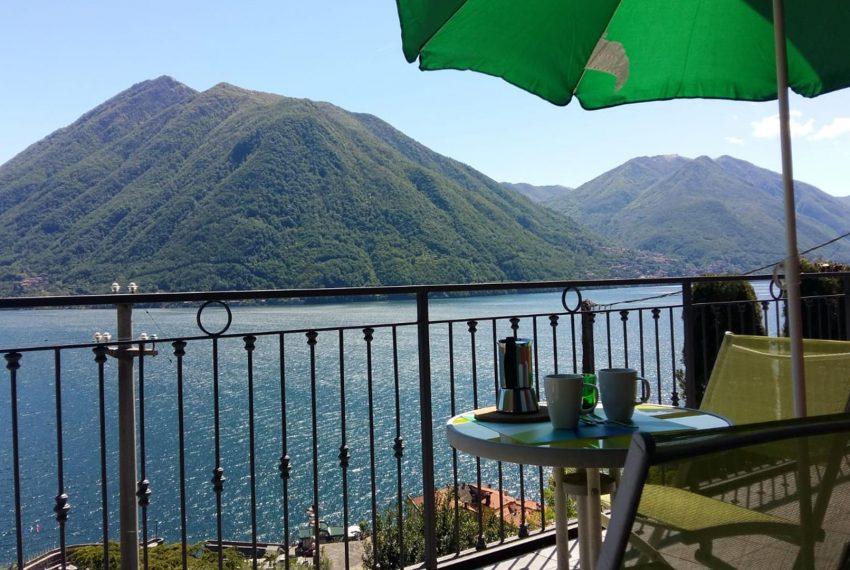 Terrace on The Lake Como Holiday