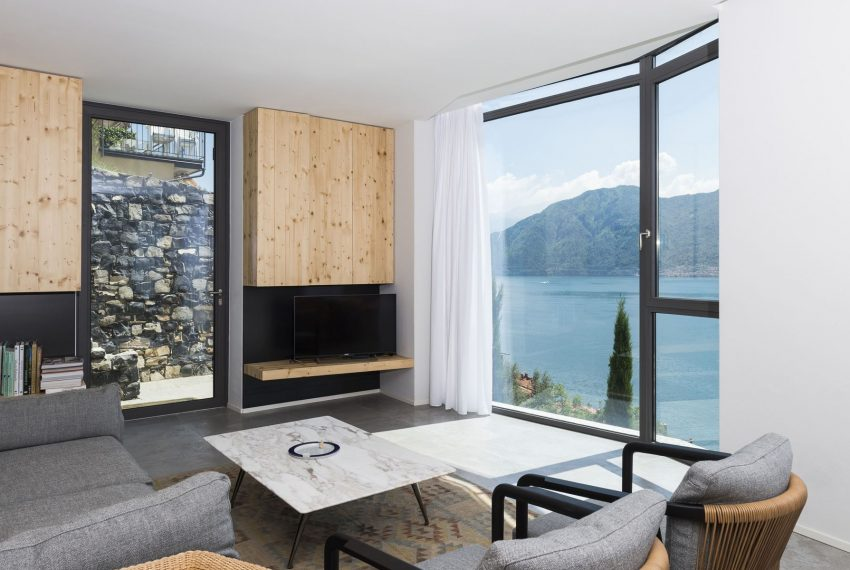 Living room - Ca' De Sass Lake Como
