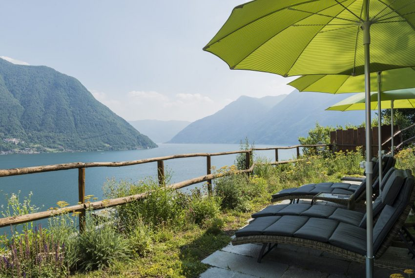 Villa on Lake Como - view