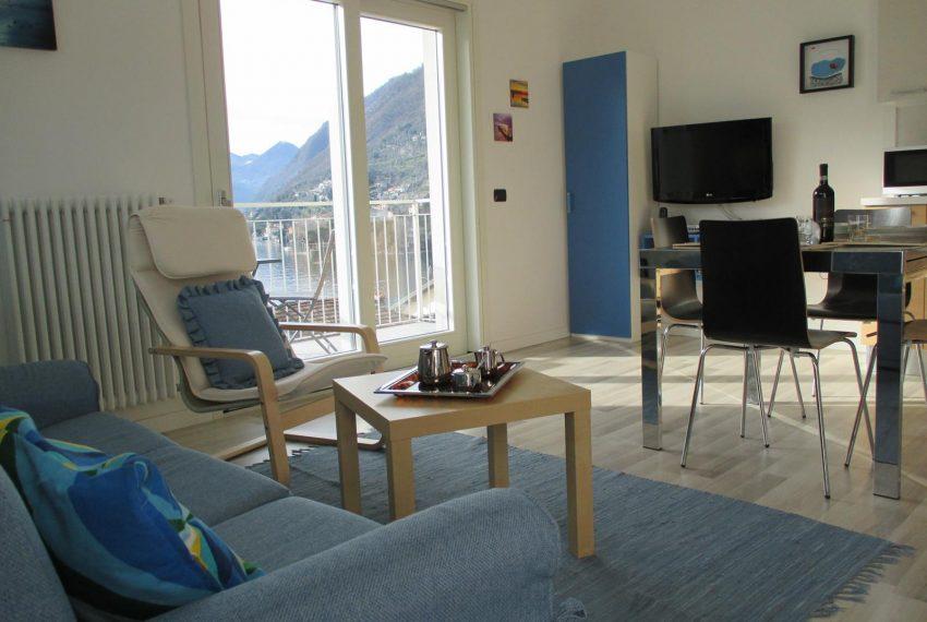 16. Relaxing area Ossuccio apartment