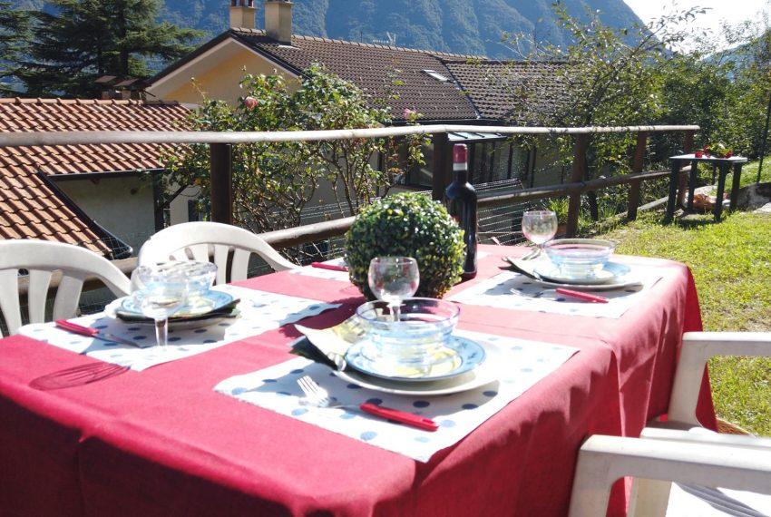 22. Garden upstairs Sala Comacina