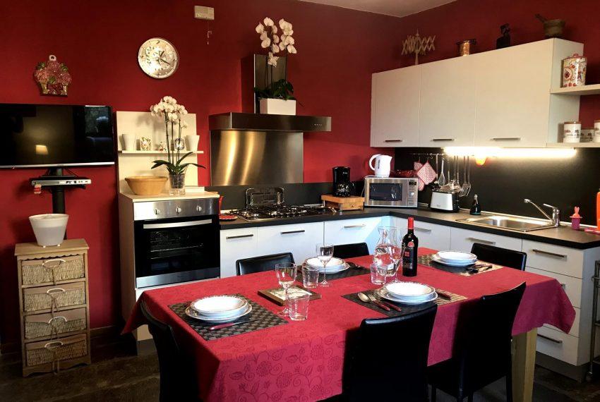 Kitchen apt Lake Como