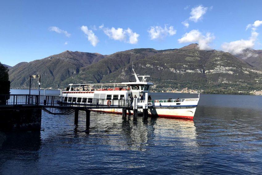 Lake Como boat stop Lezzeno
