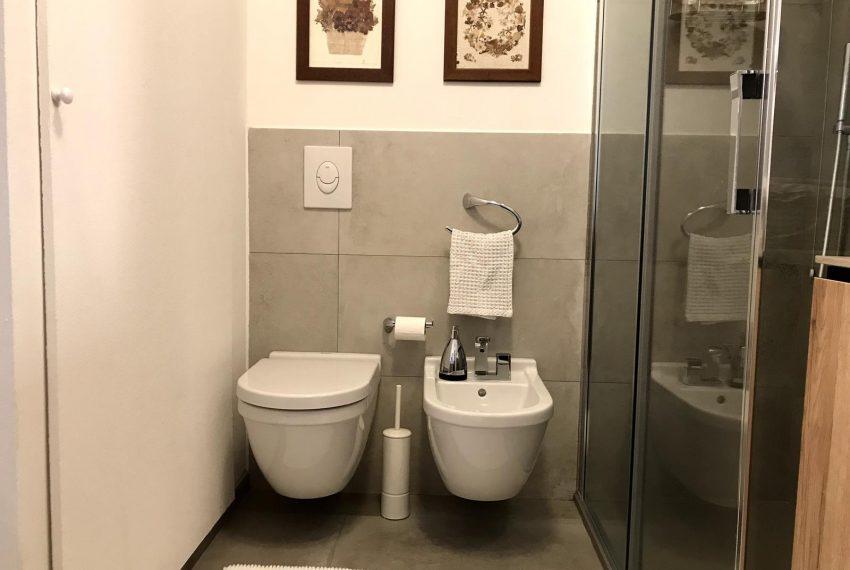 bathroom with shower - apt Lake Como