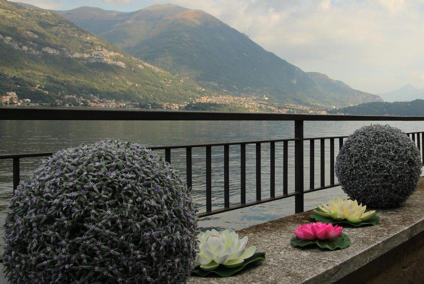 2. Outside area Lake Como apartment for holiday