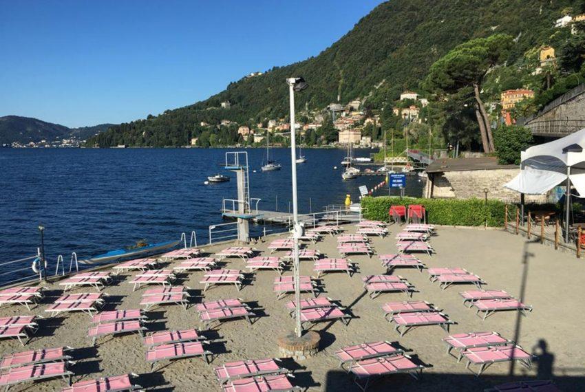 49. Moltrasio beach Lake Como