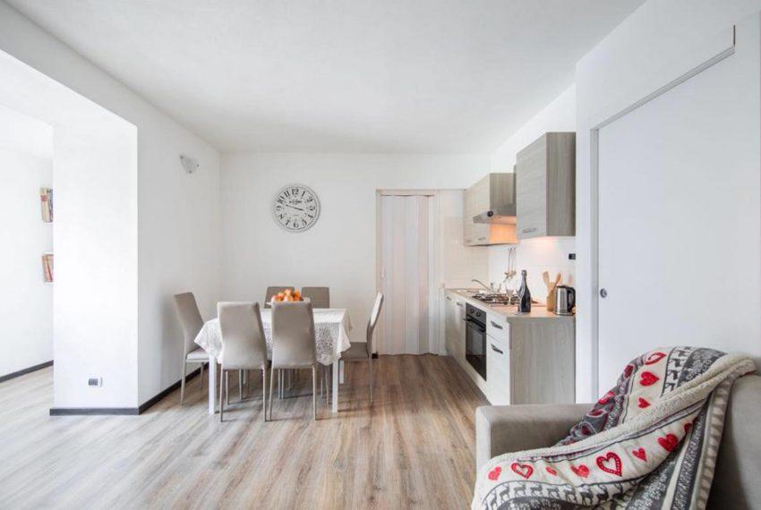 3. Living area Apartment in Argegno