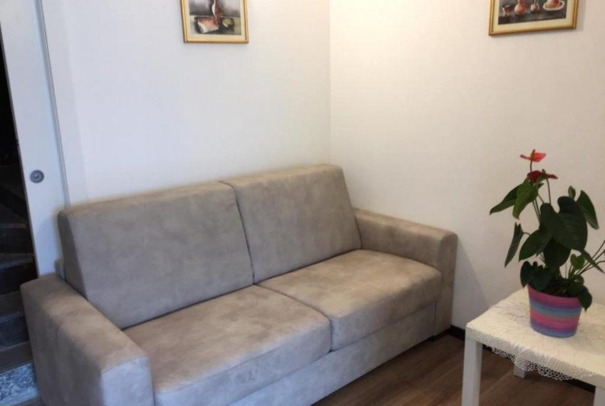 4. Sofa - bed Argegno apartment Lake Como