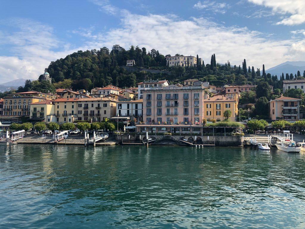 Como - Bellagio by boat