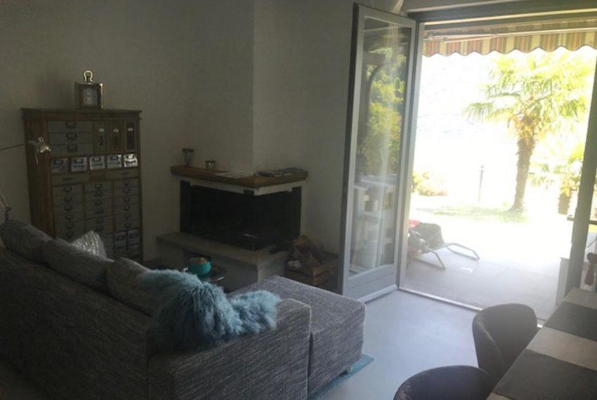 5. Living room Villino near Argegno