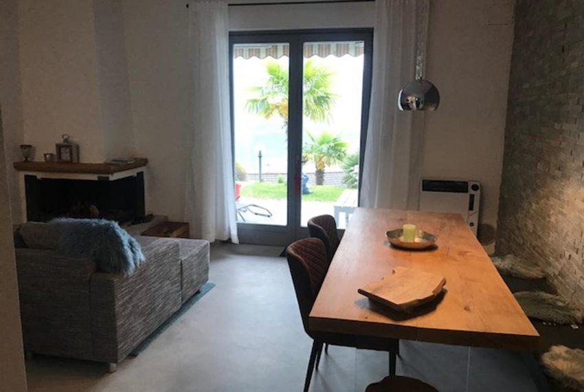 6. Dining area Villino near Argegno