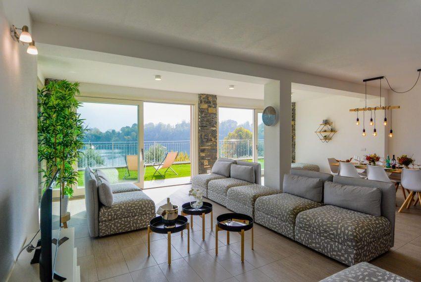 13. Living room VIlla Ossuccio Lake Como