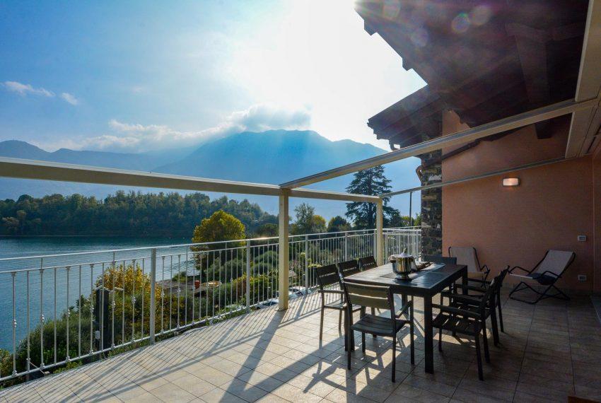 25. Huge terrace Villa Ossuccio Lake Como