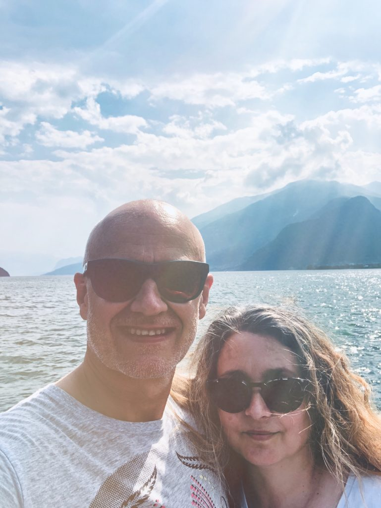 Peace and love, Lake Como