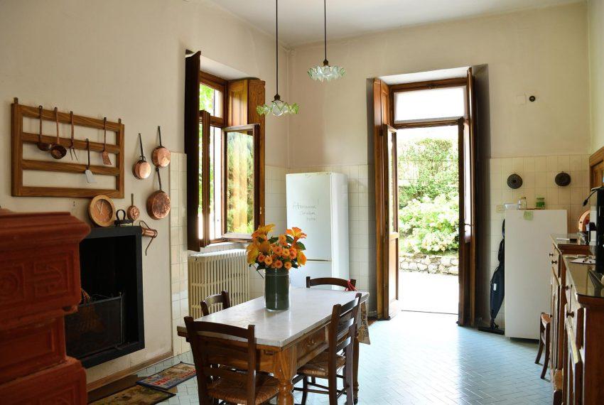 14. Kitchen on ground floor Valle Intelvi