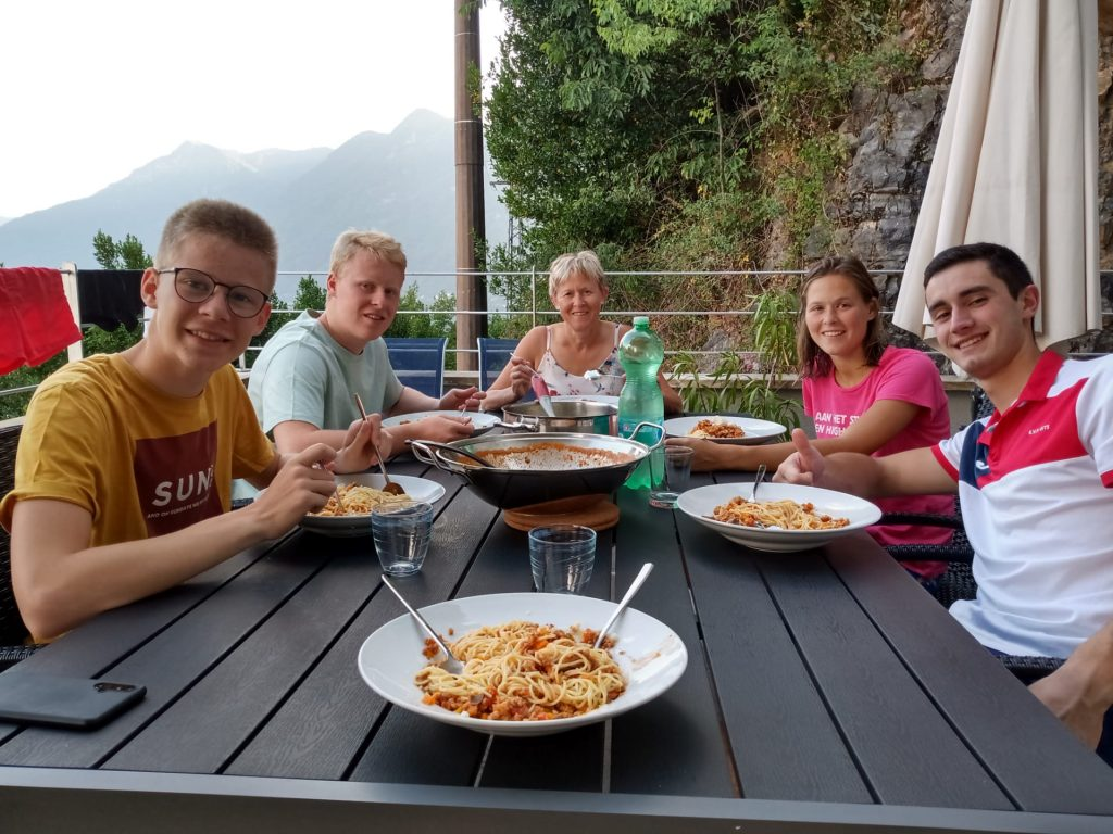 Holiday Family on Lake Como