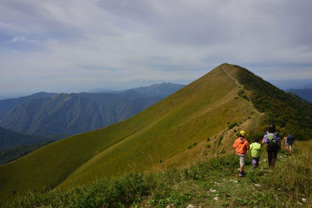 Walking Monte San Primo
