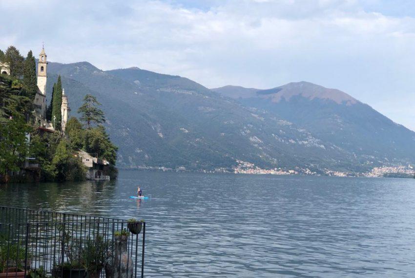 Beautiful terrace overlooking the lake